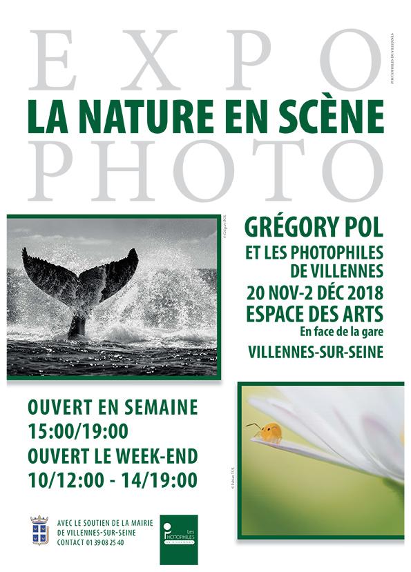 Affiche Nature en Scène 2018