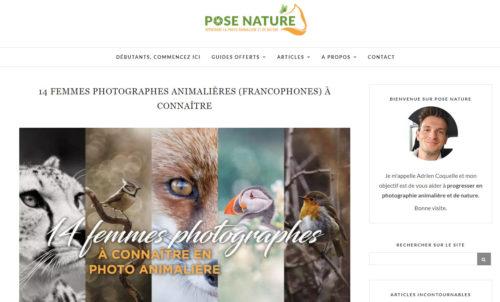 14 femmes photographes animalières à connaitre