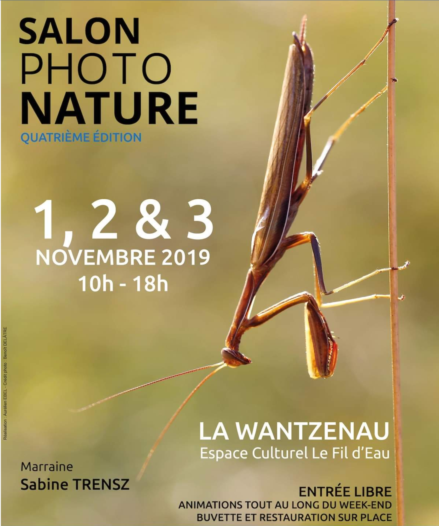 Salon photo Nature la Wantzenau 2019