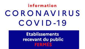 Fermetures coronavirus