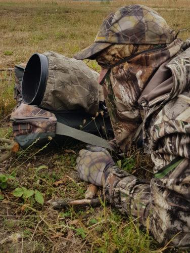 Camouflage du photographe