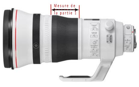 400mm 2.8-mesures